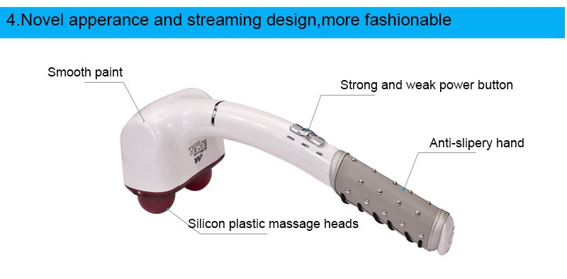 Pain Relief Electric Body Massager Kneading Shiatu  Back Leg Electronical Massage Machine Appliances for Health Care 888 cheap