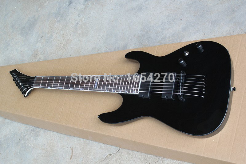 AAA new arrival free shiping E.S.P custom shop MH-417 7 strings electric guitar LTD MH-417 7 strings guitar 151007(China (Mainland))