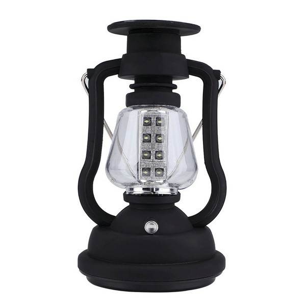 1pc 16 LED Solar Panel Hand Crank Camping Light Lamp RY-T92 Bright Outdoor Lantern Newest New Arrival