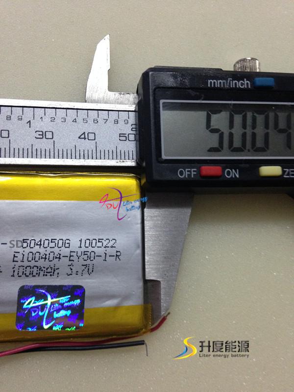 tablet battery SD504050 504050 3.7v 1000mAh li-polymer batteries gps tracking device long battery life(China (Mainland))