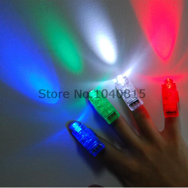 4000pcs/lot LED finger light,4 color Laser finger lamp for party. birthday,Chistmas decoration(China (Mainland))
