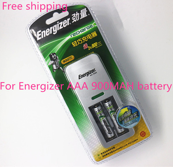 Free shipping charge genuine 1pcs charger +2pcs AAA 900MAH Ni MH rechargeable battery(China (Mainland))