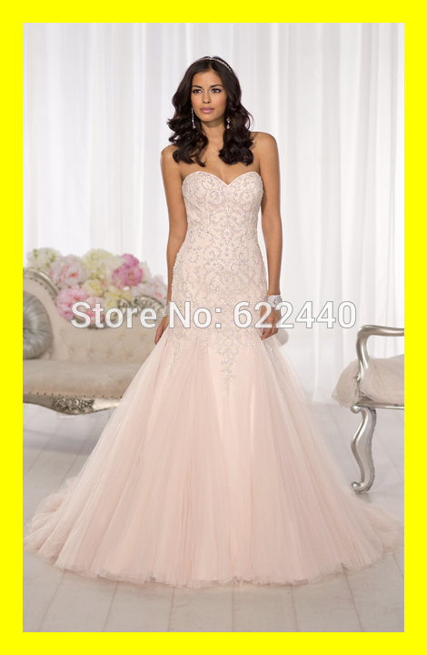 Popular champagne tea length wedding dresses aliexpress for Champagne tea length wedding dresses