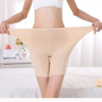 LG009 Comfortable Plus Size Ladies Bamboo Boxer Shorts Safe Pants Boyshort Underwear for Women Fits for 24 to 44 inches waist