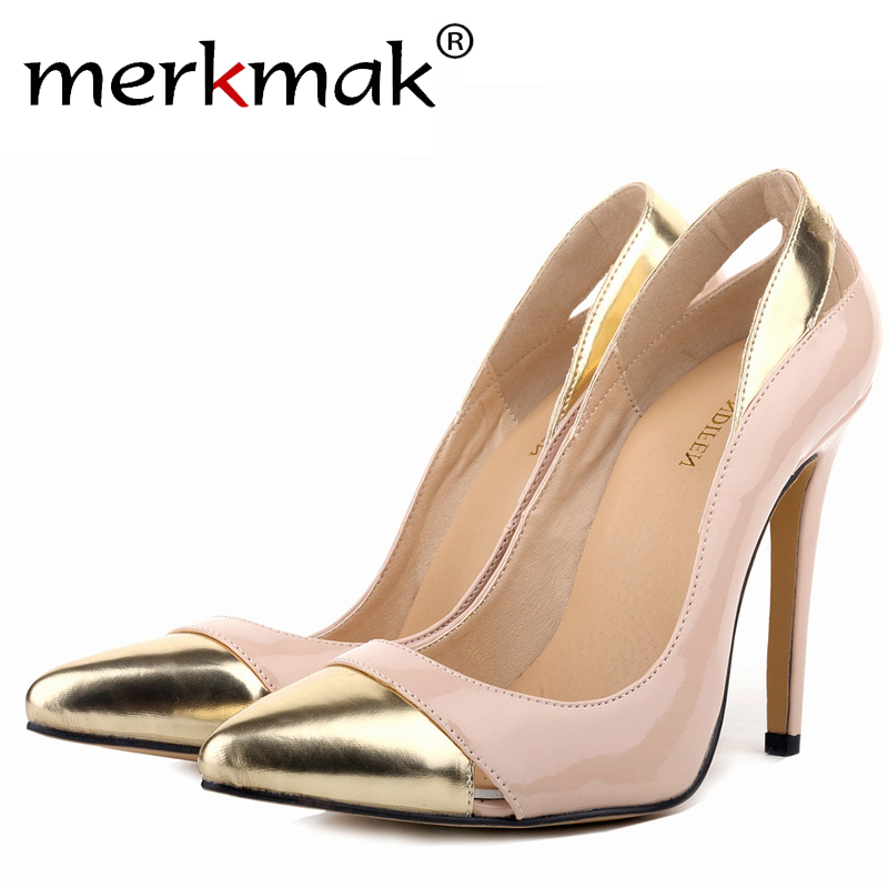 Classic Sexy Pointed Toe High Heels Women Pumps Shoes New 2016 Spring Brand Design Wedding Shoes Pumps 23 Colors Big Size 35-42(China (Mainland))