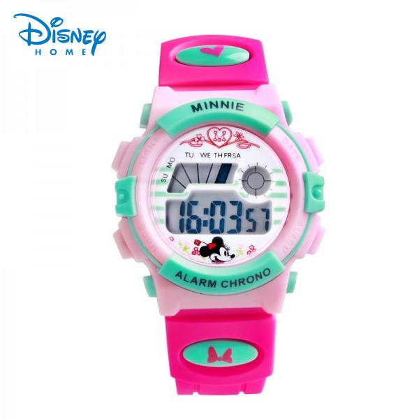 Disney Children Sports Watches kids Adult Waterproof alarm Digital Watches Rubber Wrist Watch relogio masculino LCD-PS041-5(China (Mainland))