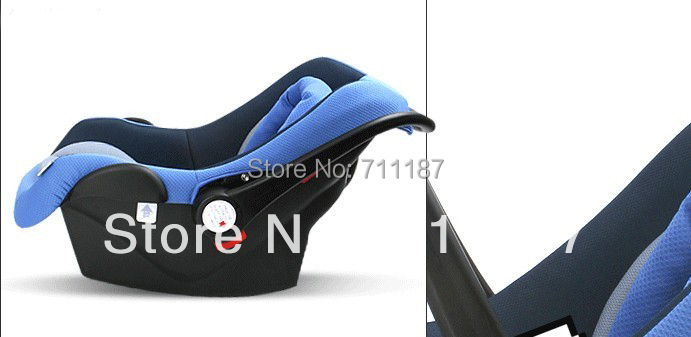 Good Quality Comfortable Soft Baby Car Seats For 0-12 month Infants,41*33*70Cm Basket Style Safety Seat Blue Car Seat 0-13Kg<br><br>Aliexpress