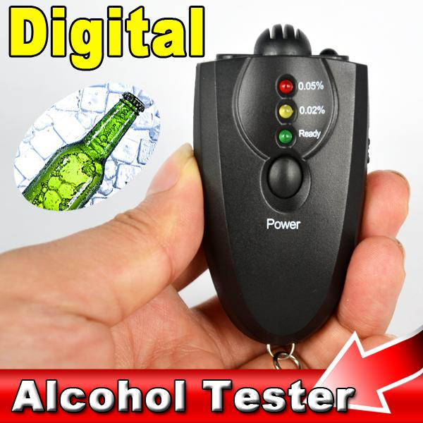 2016 Hot Selling blackdigital alcohol tester AD09 breathalyzer Professional Alcohol Content Detector alcohol Analyzer For Driver(China (Mainland))