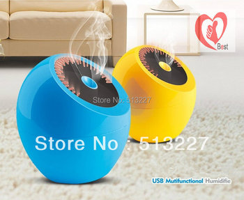 New Arrival two colors Creative dashboard USB humidifier mini humidifier Free Shipment