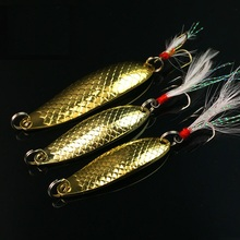Buy Fishing spoon lure 7g 10g 15g metal lures treble hook carp fishing isca artificial bait China carp equipment accessories for $1.18 in AliExpress store