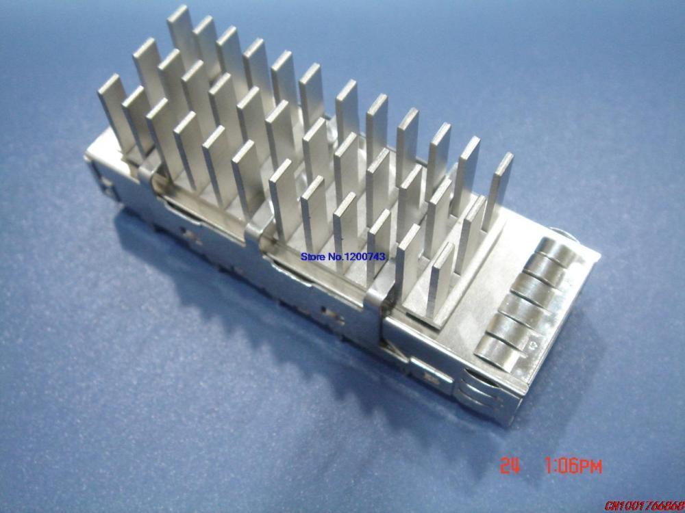 30P SFP fiber socket shell protective shell with a heat sink(China (Mainland))