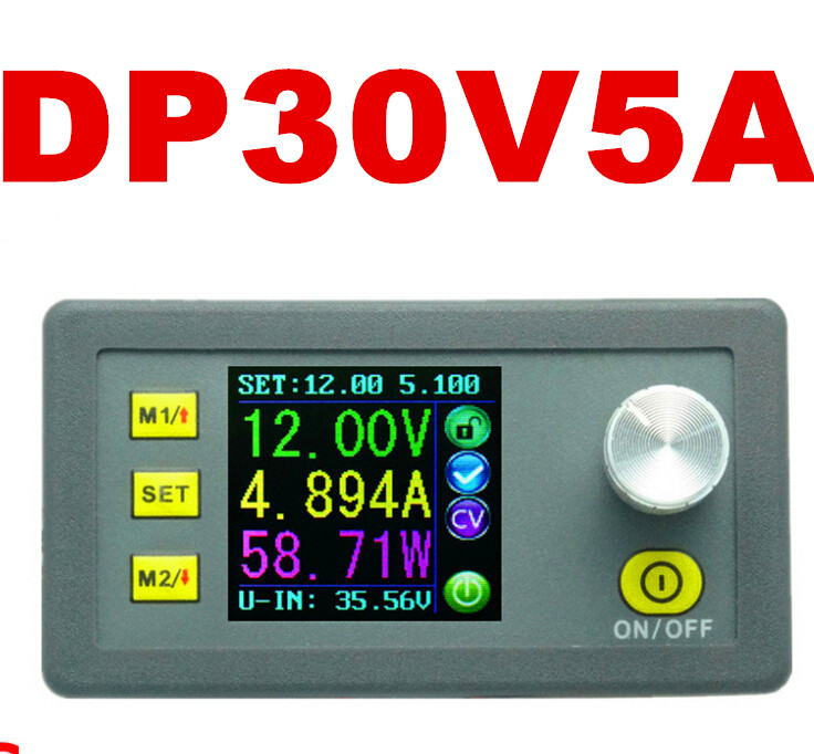 DP30V5A Power Supply 0-30V/5A With Constant Current And Constant Voltage Regulated Power color LCD display voltmeter(China (Mainland))