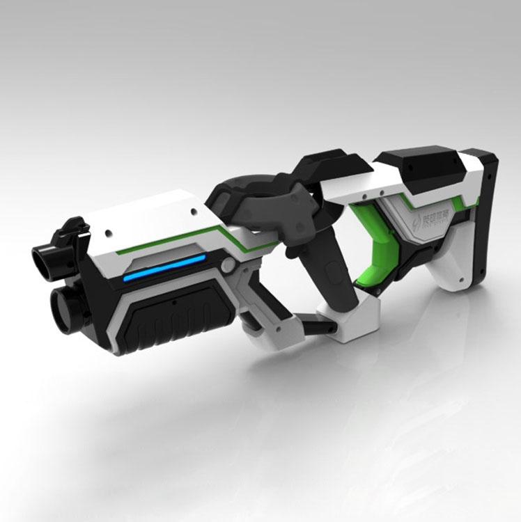 MAG P90 VR HandGun Shooting Game Gun Controller for HTC Vive headset Virtual Reality VR experience shop (Less stock ,white)