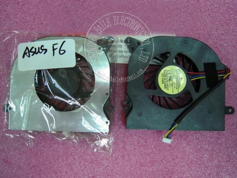 (5pcs/lot) NEW cpu fan ASUS F6 F6A F6V F6S F6E F6Z V2S fan,New F6 F6A F6V F6S laptop cpu cooling fan cooler
