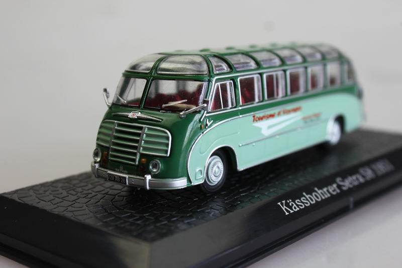 ATLAS 1: 72 Kassbohr Setra S8 1951 Bus Bus Model Favorite Model<br><br>Aliexpress