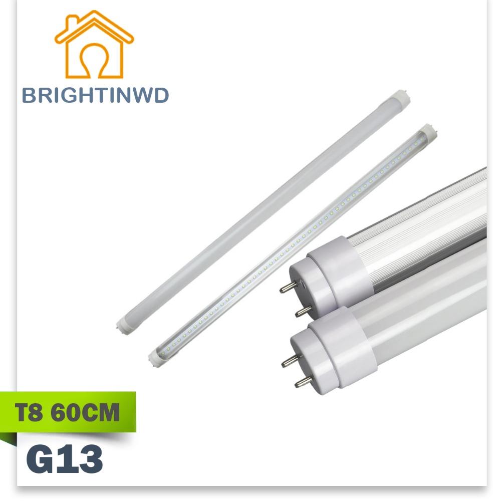 led t8 g13 tube linestra strip light 60cm 110 265v wide voltage integrated 2835 9w dimmable. Black Bedroom Furniture Sets. Home Design Ideas