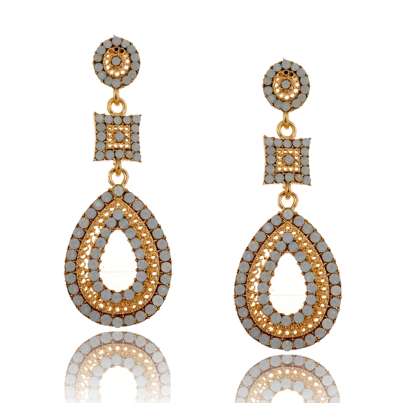 Creative Indian Jewelry 2015 Vintage Earrings For Women Gold Fashion Earrings