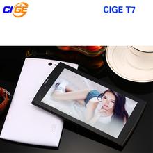 CIGE tablet Android 7 inch 4G LTE T7 phone call 4G tablet pc Quad core SIM 2G RAM 32G ROM SIM GPS IPS FM tablet pcs