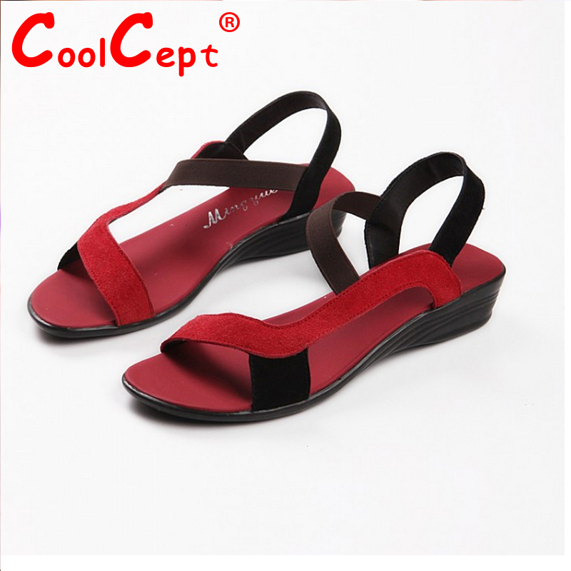 FREE SHIPPING 2012 HOT SALE G103 high quality flat dress shoes womens fashion genuine leather sandals size 34-40<br><br>Aliexpress