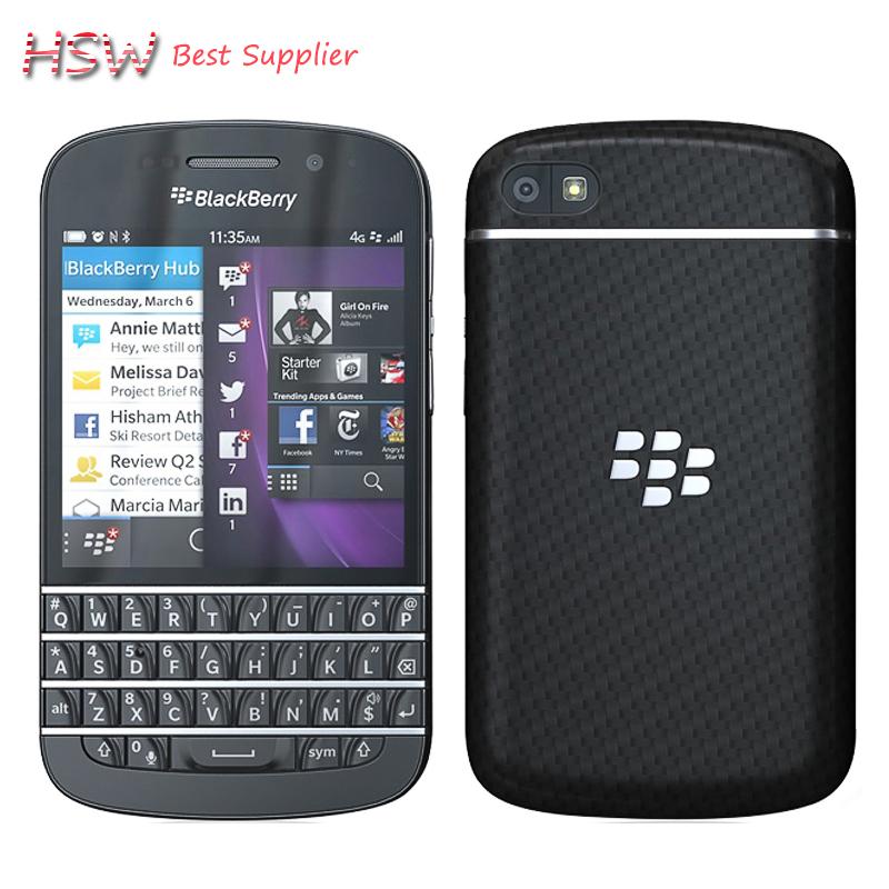 original Hot sale 100% Original Original Blackberry Q10 8MP 2GB RAM+16GB ROM 4G Network FM Wi-Fi refurbished cell phone(China (Mainland))