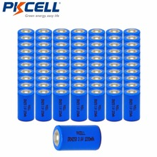 Buy 50Pcs/lot PKCELL 14250 Battery 1/2 AA 3.6V Lithium ER14250 Battery 1/2AA Batteries capacity 1200mAh Lithium Battery for $58.59 in AliExpress store