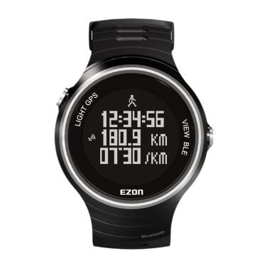 GPS watch running sports 50m waterproof Step gauge Motion records phone to remind Social sharing distance 5ATM G1 smart watch