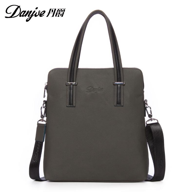 Time-limited New men genuine leather classical Handbags mens fashion shoulder messenger bag casual business bag brand briefcase<br><br>Aliexpress