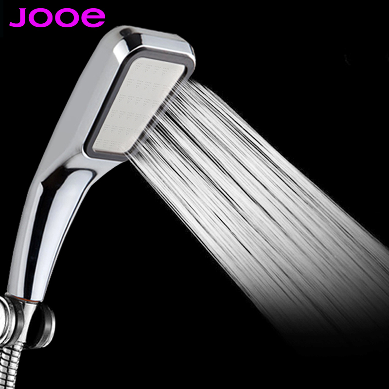 Amy 2016 Pressurized Water Saving Shower Head ABS With Chrome Plated Bathroom Hand Shower Water Booster Showerhead(China (Mainland))