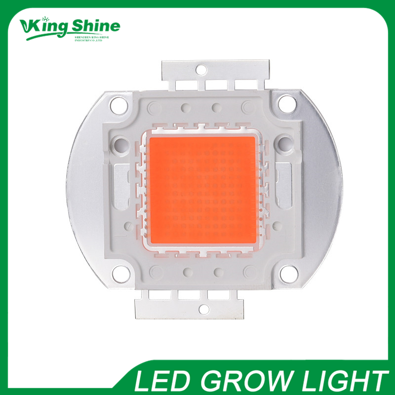 30W LED Grow light chip Epistar full spectrum 380-840nm 30W led grow light array for indoor DIY growth and bloom(China (Mainland))