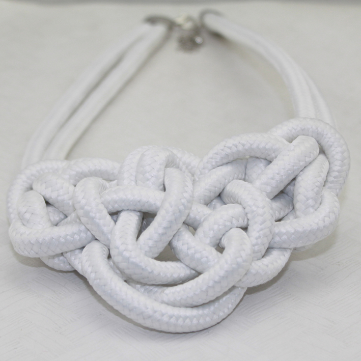 $15 free shipping Accessories handmade necklace neon color cotton knitted necklace multicolor fashion(China (Mainland))