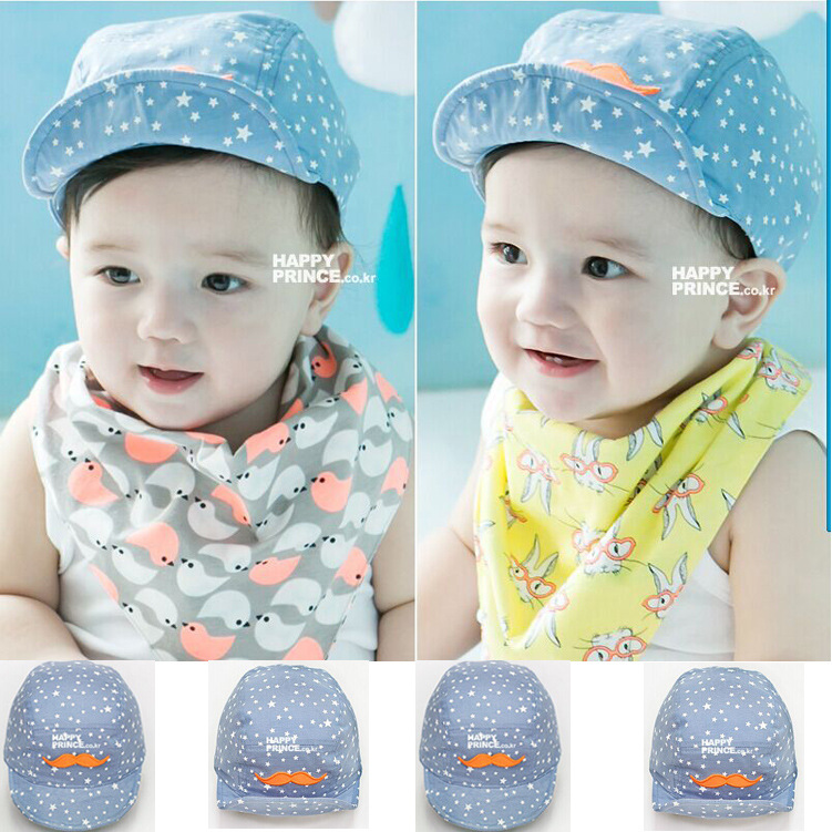 2016 Fashion New New Baby Kids Toodler Boy Girl Girls Cotton Hat Sun Baseball Cute Cap 5 Colors