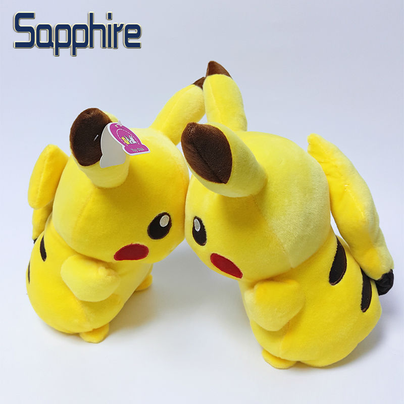 Big Size 35cm Pokemon Pikachu Plush Toy Fashion Cartoon Plush Toys Cosplay Charmander Plush Toys Cute Pokemon Stuffed Plush Doll(China (Mainland))