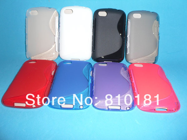 100pcs/lot Free shipping NEW TPU Sline mobile phone case for Blackberry 9720(China (Mainland))