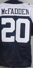 Free Shipping Cheap Men's #20 Darren McFadden Jersey Blue White Wholesale Top Quality Stitched Darren McFadden Sports Jerseys(China (Mainland))