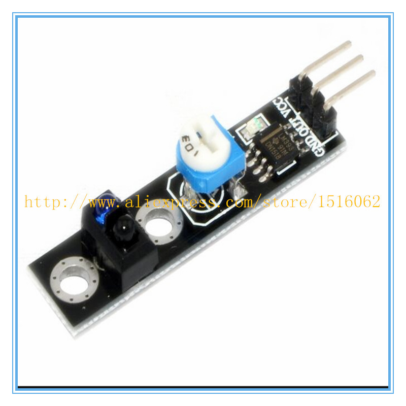 10pcs TCRT5000 Line Track Sensor Module Reflection Infrared Sensor Switch Module For Arduino