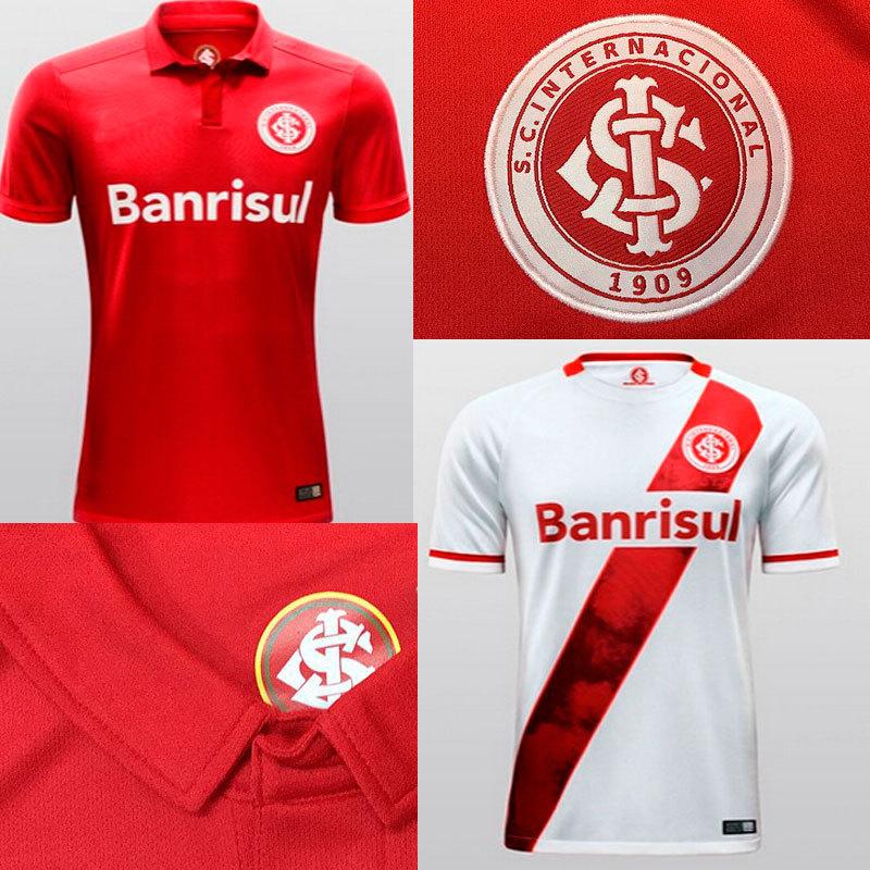 A+++ 15 16 100% Thailand Camisa MASCULINA Sport Club Internacional tshirt Soccer Jerseys Top Man Shirt Camisa De Futbol Uniform(China (Mainland))