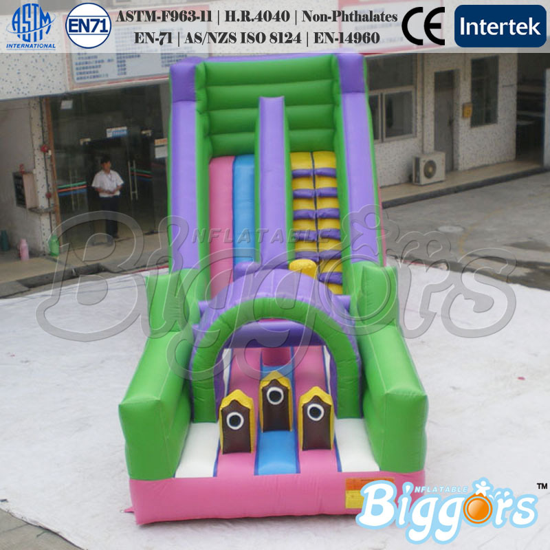 FREE SHIPPING BY SEA Popular Inflatable Obstacle Course Games Inflatable Bouncer Slide For Entertainment(China (Mainland))