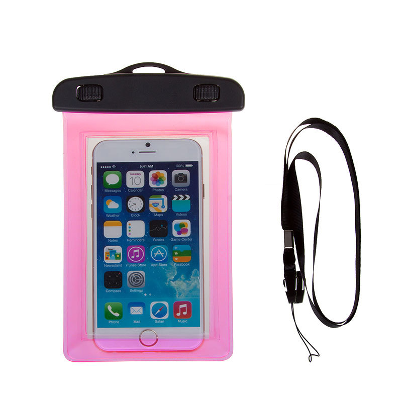 5.0inch Multicolor Waterproof Underwater Bag Case Pouch Universal Phone Durable Bag For Mobile Phone For Iphone For Huawei