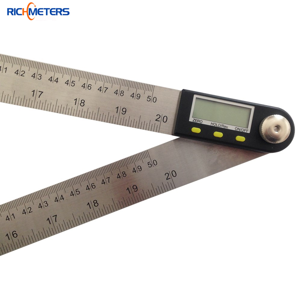 Electronic Angle Instruments : Mm digital protractor inclinometer goniometer level