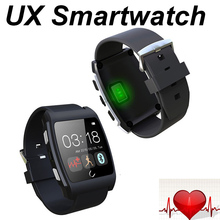 2015 Newest Uwatch Ux Bluetooth Smart Watch with Heart Rate Sensor NFC Smartwatch for Samsung S4 S5 Note 4 HTC Huawei Lenovo LG