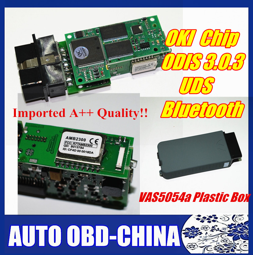 2016 New Arrival And High Quality VAS 5054A Bluetooth VAS5054 With OKI Full Chip VAS5054A ODIS3.0.3 Support UDS Protocol(China (Mainland))