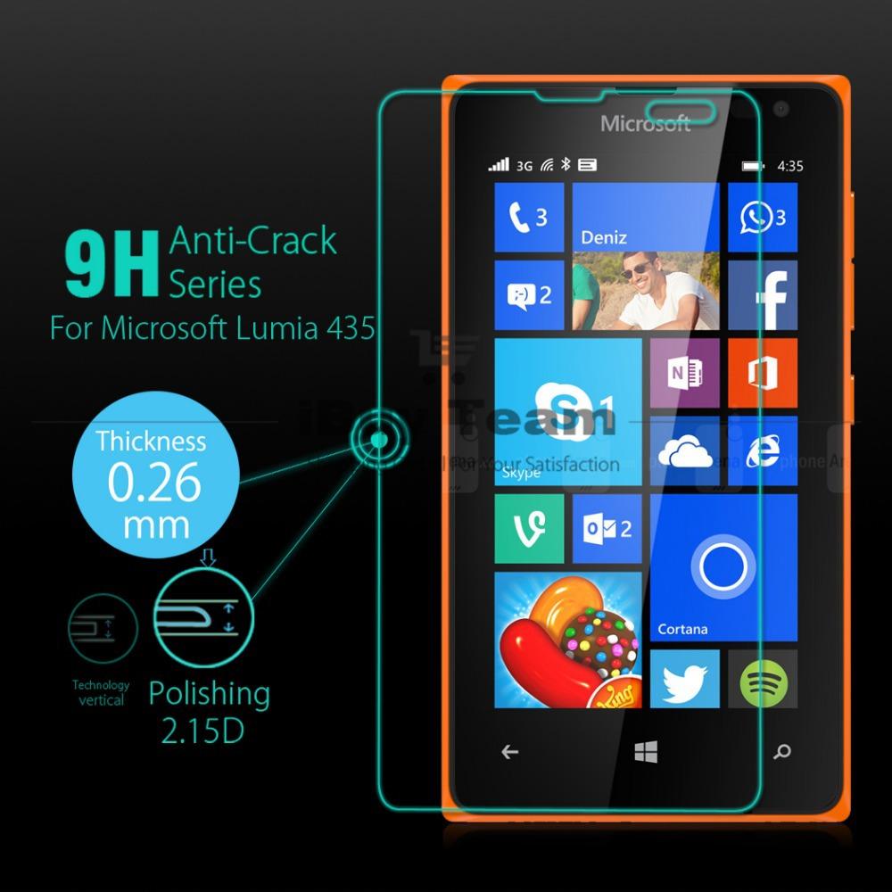Aliexpress.com : Buy For Microsoft Lumia 435 Tempered ...