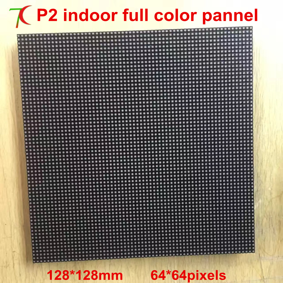 P2 indoor 32scan full color module,128mm*128mm