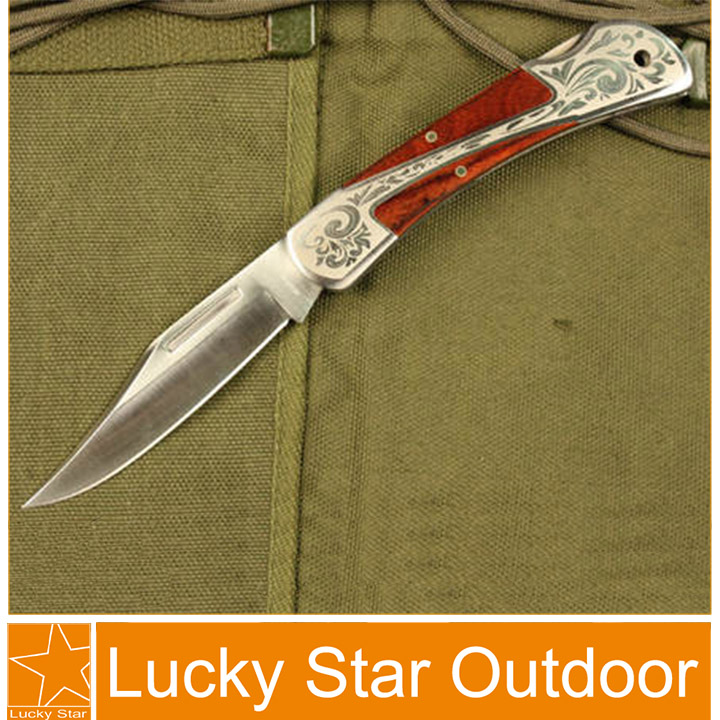 Top quality outdoor survival knife multi tool camping tactical knives best gift 3Cr13 56HRC stainless steel folding blade(China (Mainland))