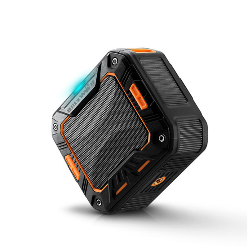 BlitzWolf BW-F2 IP65 Water-resistant Outdoor Hand-free 2000mAh Wireless <font><b>Bluetooth</b></font> <font><b>Speaker</b></font>