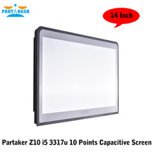 Embedded Computer Systems 14 Inch 10 Points Capacitive Touch Screen All In One Pc With Intel Core I5 3317u(China (Mainland))