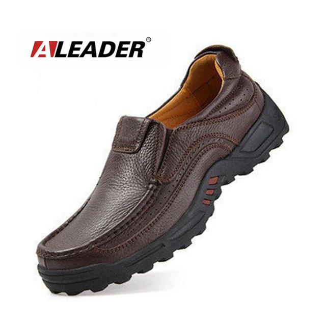 Натуральная кожа мужчины бездельников мокасины 2014 открытый лианы оксфорд обувь ...