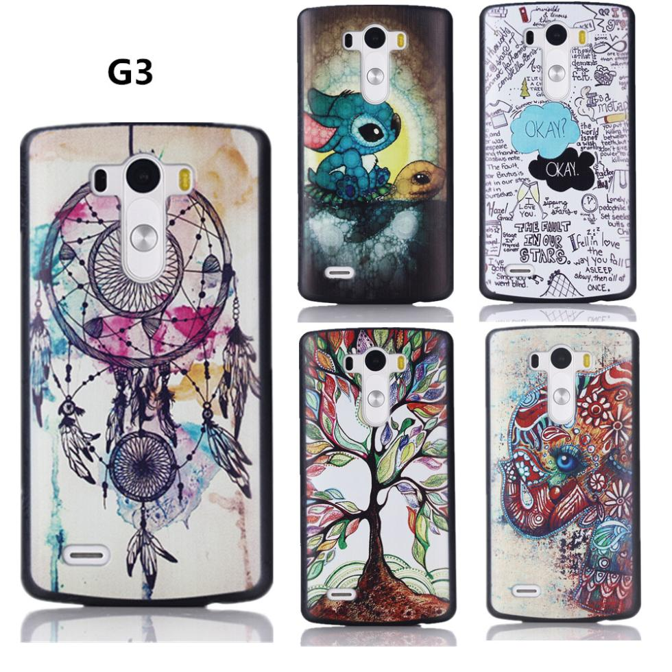 22 Style New Arrival painting cover case for LG G3 D855 Case original Cover for LG G 3 D830 VS985 cover high quality(China (Mainland))