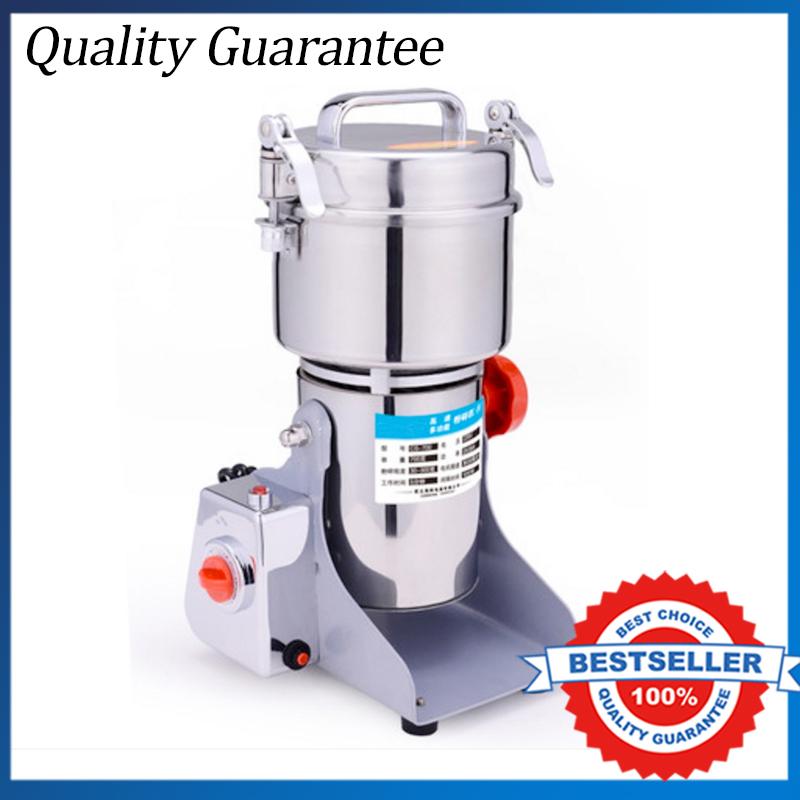 Free shipping 700G Big Capacity Electric Herb Coffee Beans Grain Grinder 110V/220V Food Grinder Mill Powder Machine(China (Mainland))