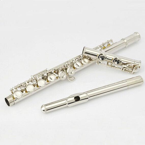 Фотография High quality brand 16 hole E key C flute, professional learning flute instruments